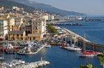 bastia old port and terra vecchia