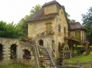 Hameau Stair House Oil