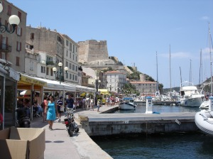 Harbor Bonifacio hotel on quay