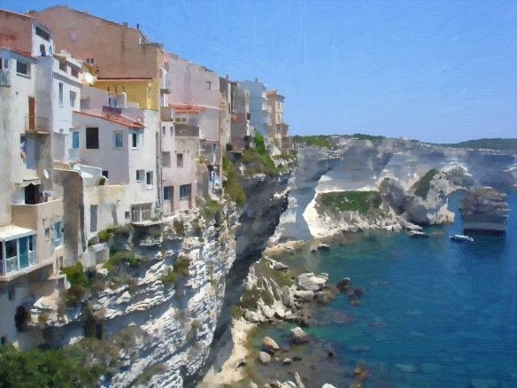 Bonifacio Cliffs Oil