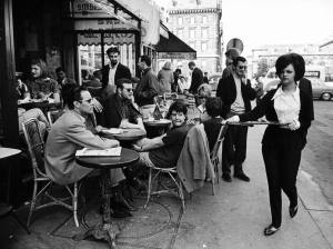 paris cafe 1963