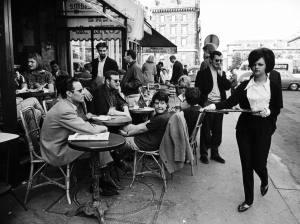 paris cafe 1963