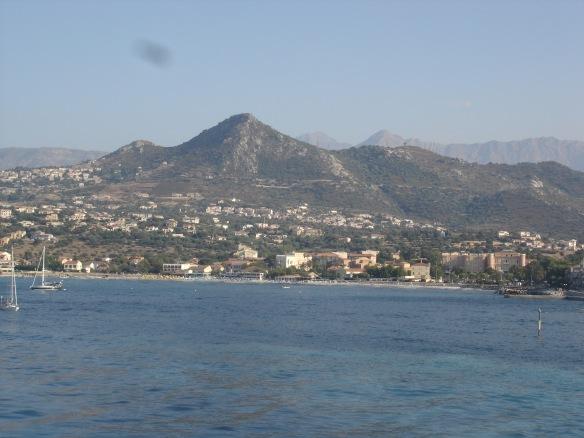 Arriving Corsica Ile Rousse