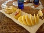 Dessert at Logis du Guetteur