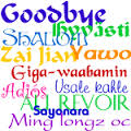 good byes hellos
