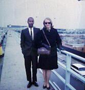Len and Karen airport