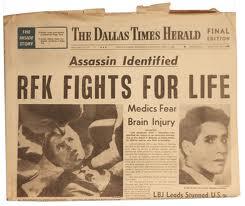 rfk newspaper