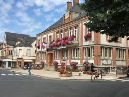 The Hotel de Ville in the village