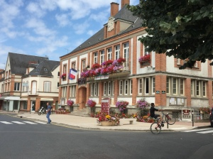 The Hotel de Ville in the village